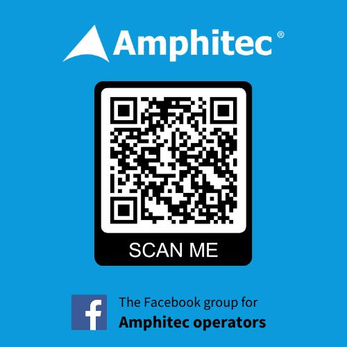 Amphitec Operators FB QR sticker