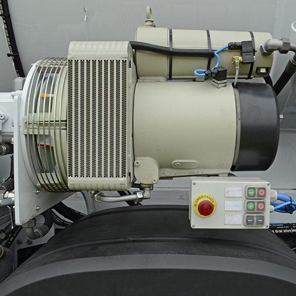Suction Excavator compressor